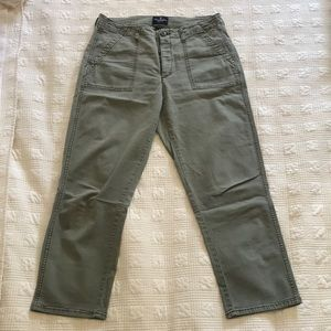American Eagle Vintage High Rise cropped pants